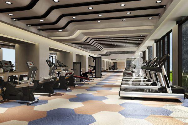 2015091601 新竹縣竹北市中興段 室設【公設3D模擬透視圖一】》健身房