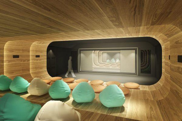 2015091601 新竹縣竹北市中興段 室設【公設3D模擬透視圖一】》視聽室