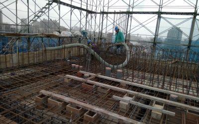 R2F混凝土澆置