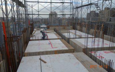 R2F頂板模板組立