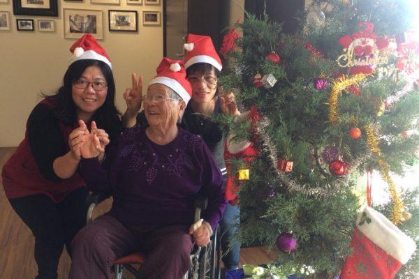 聖誕帽合照2
