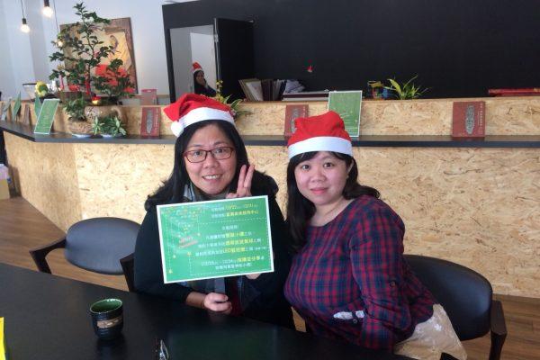 聖誕帽合照3