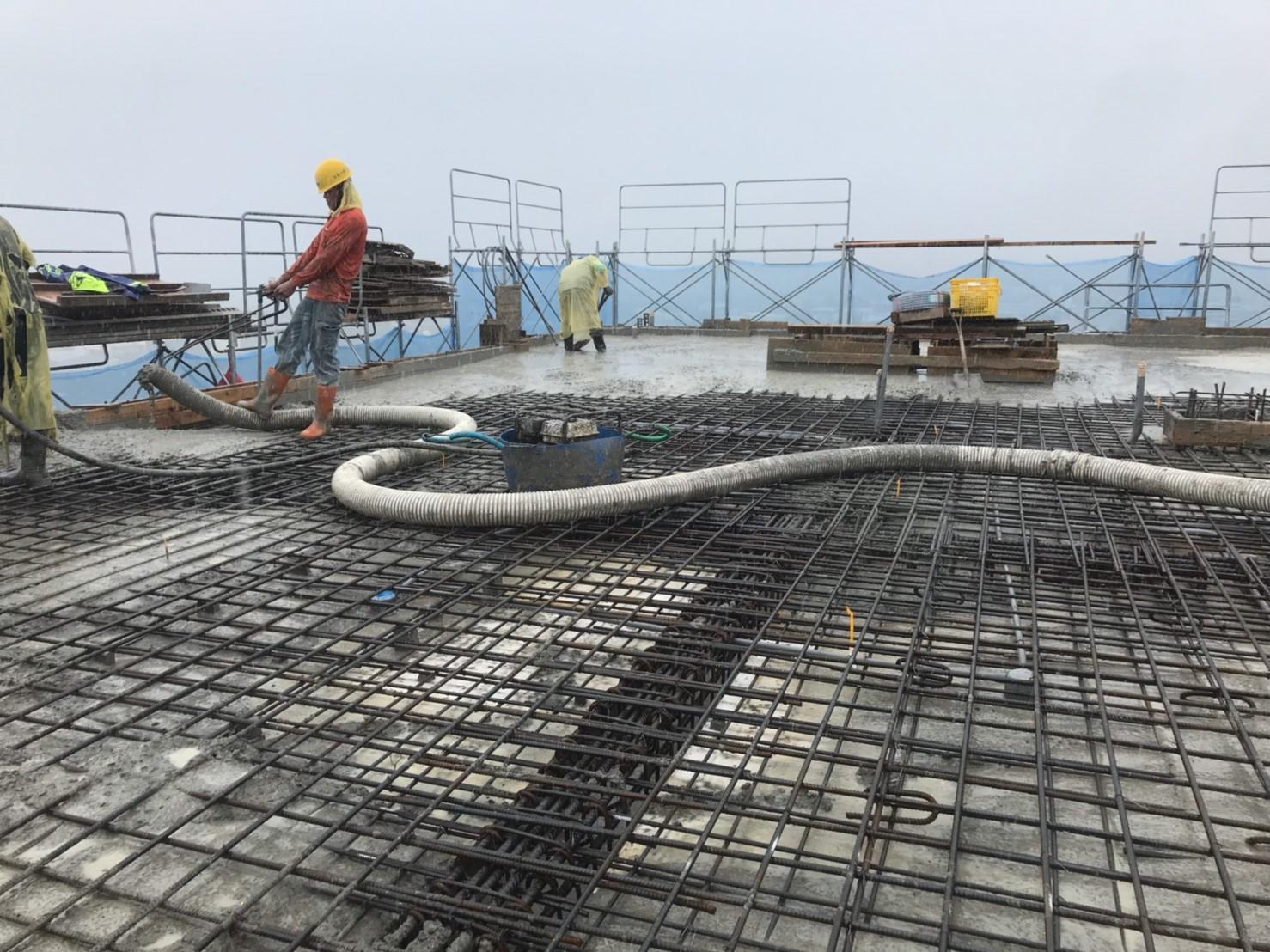 2019.04.22屋突樓頂板完成